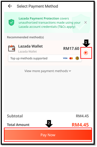 How Do I Pay With Lazada Wallet