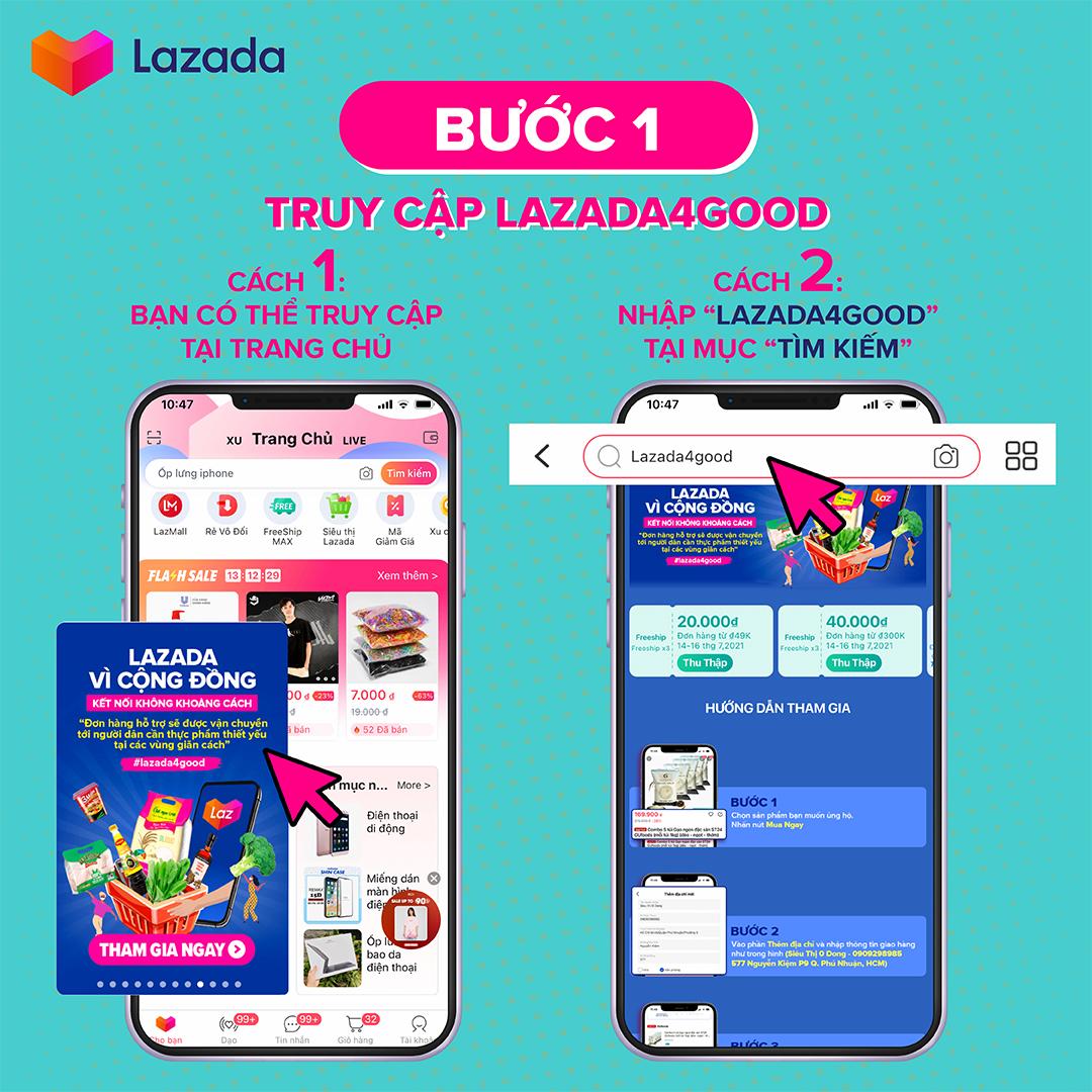 Chương trình Lazada vì Cộng đồng (#Lazada4Good)